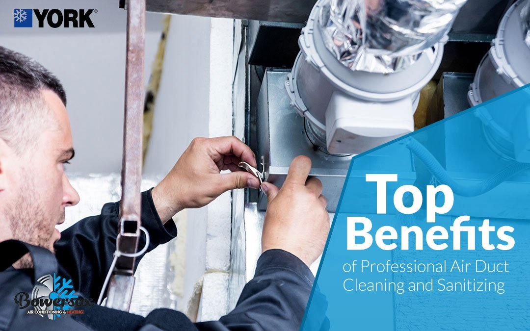 Top Benefits of Professional Air Duct Cleaning and Sanitizing