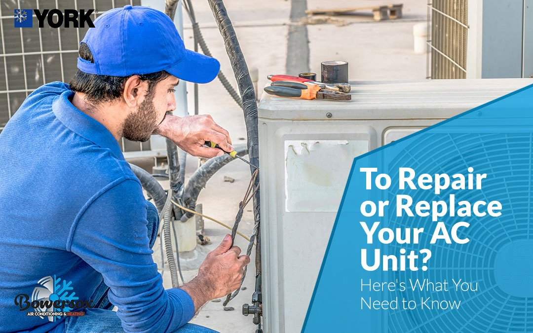 To Repair or Replace Your AC Unit? Here's What You Need to Know