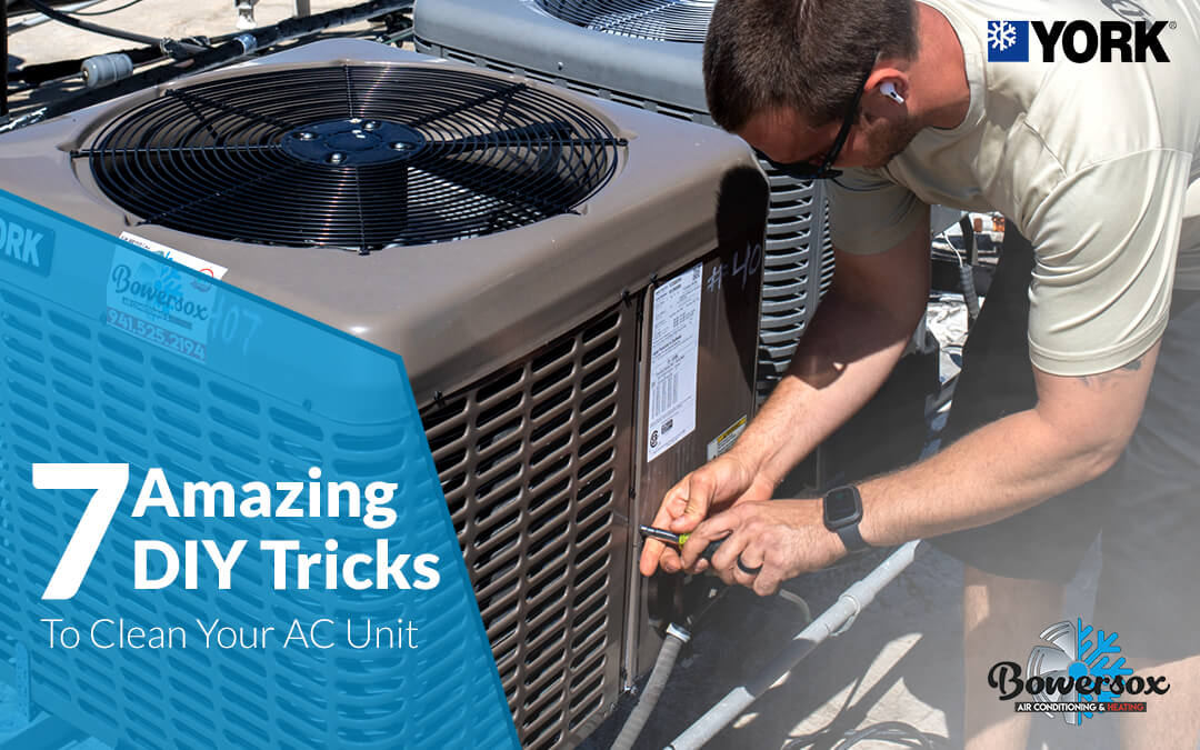 7 Amazing DIY Tricks to Clean Your AC Unit