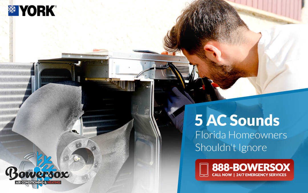 5 AC Sounds Florida Homeowners Shouldn't Ignore