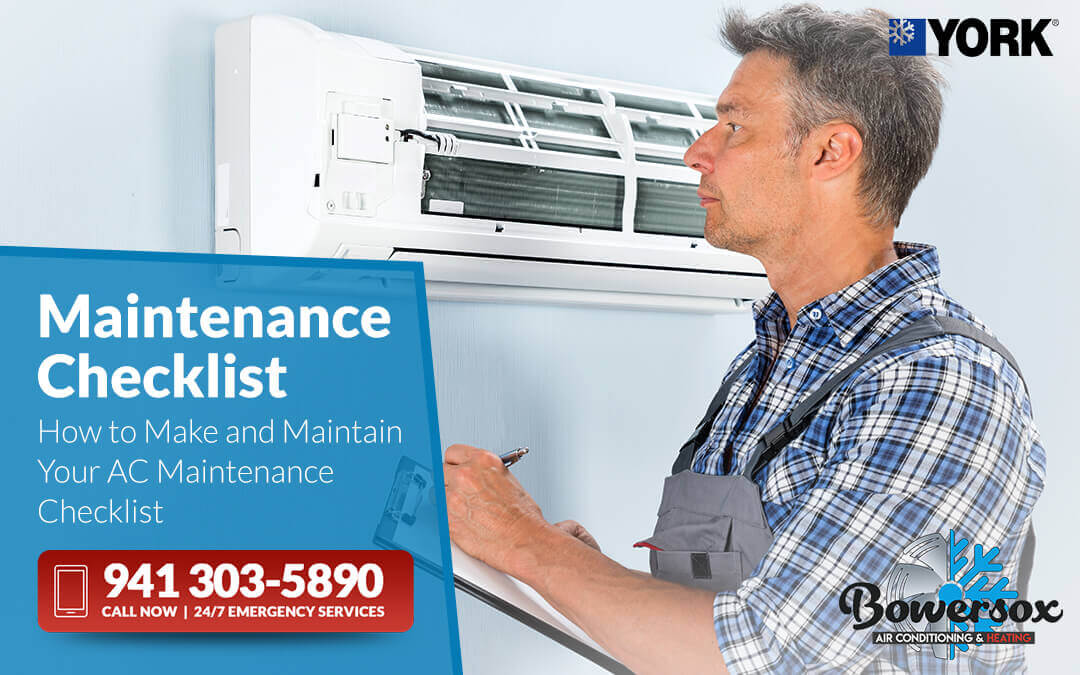 How to Make and Maintain Your AC Maintenance Checklist